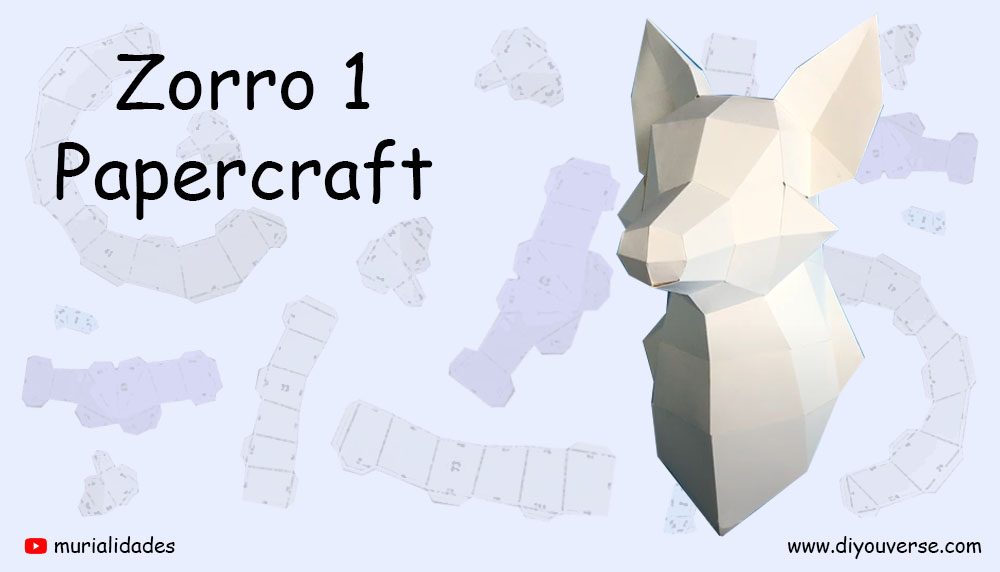 Zorro 1 Papercraft