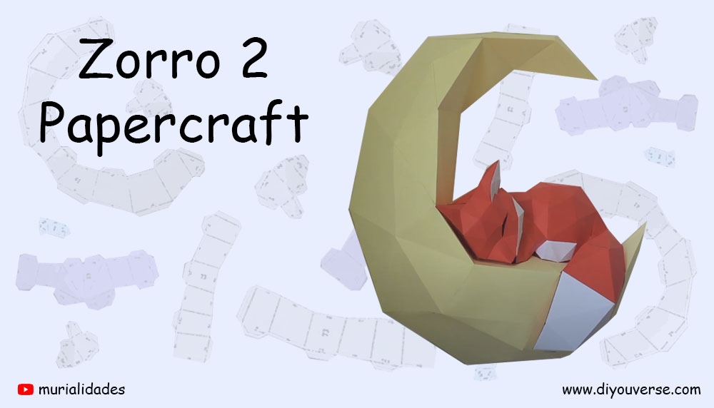 Zorro 2 Papercraft
