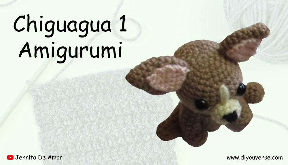 Chihuahua 1 Amigurumi