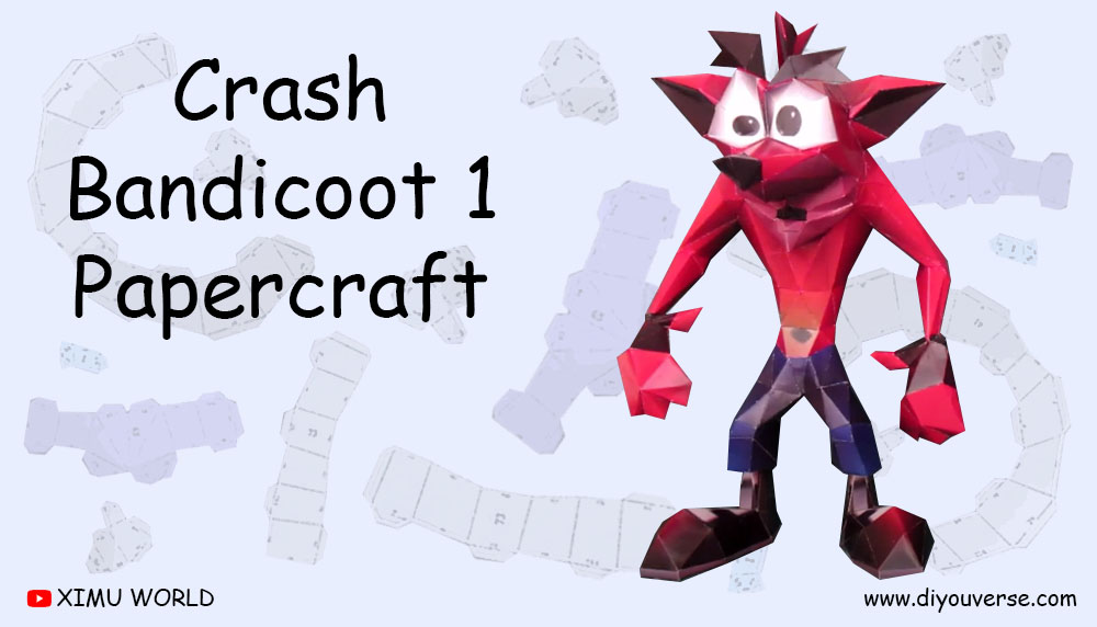 Crash Bandicoot 1 Papercraft