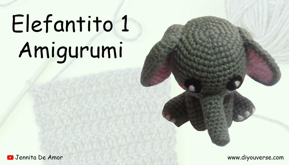 Elefantito 1 Amigurumi