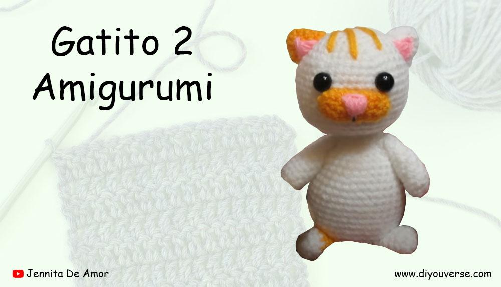 Gatito 2 Amigurumi