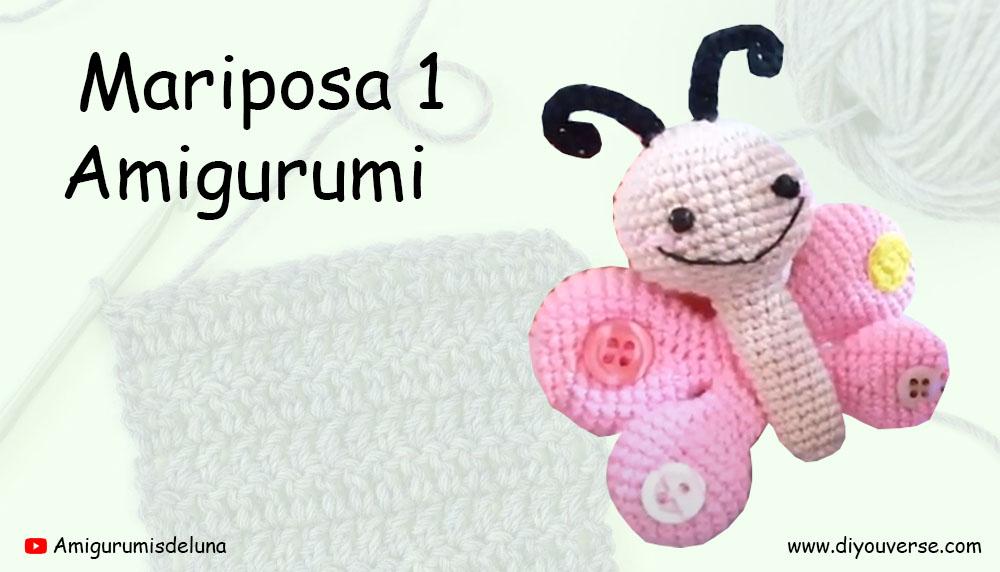 Mariposa 1 Amigurumi
