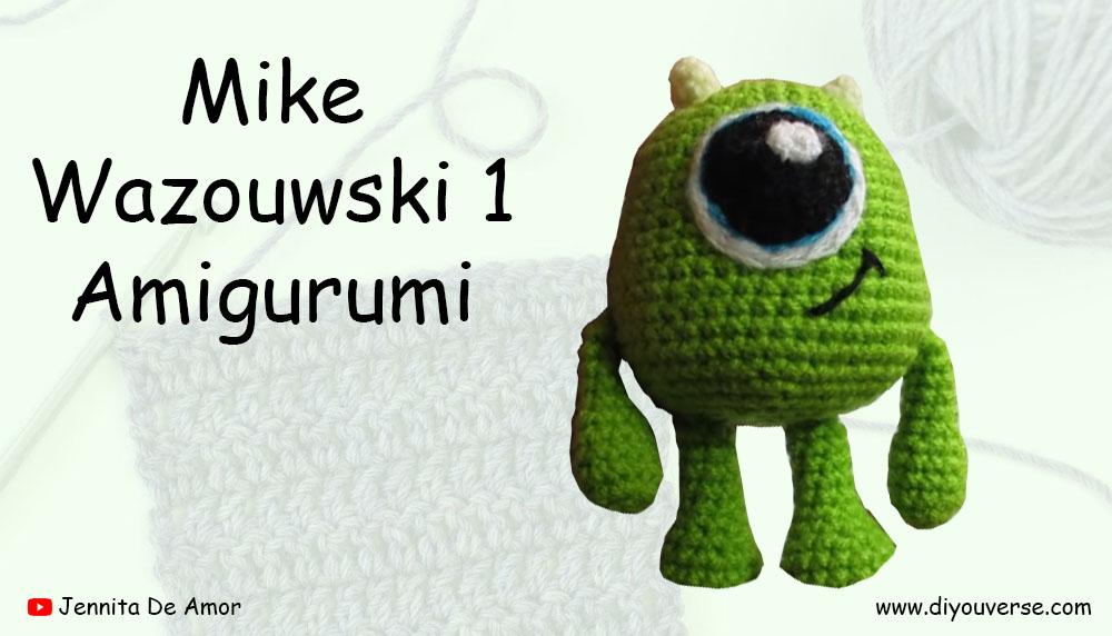 Mike Wazowski 1 Amigurumi