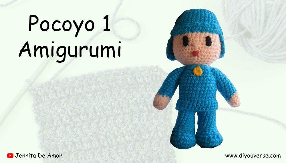 Pocoyo 1 Amigurumi