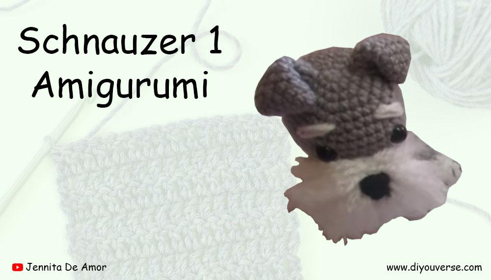 Schnauzer 1 Amigurumi