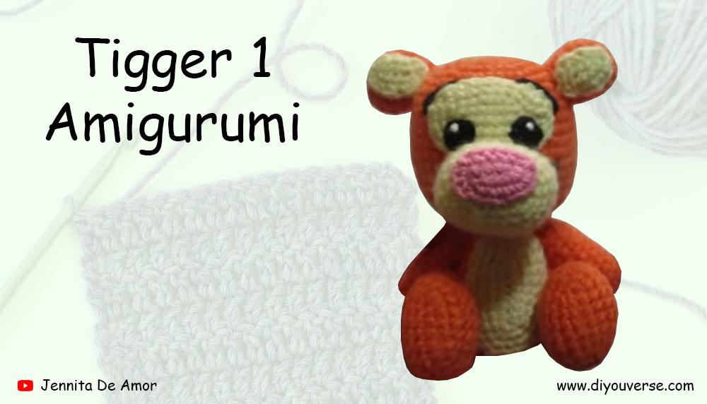 Tigger 1 Amigurumi