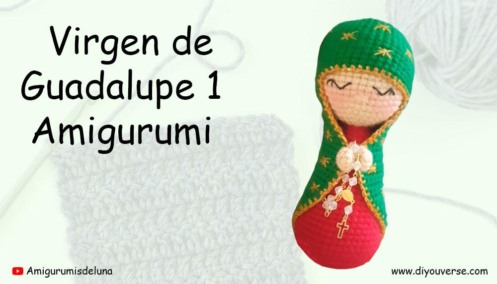 Virgen de Guadalupe 1 Amigurumi