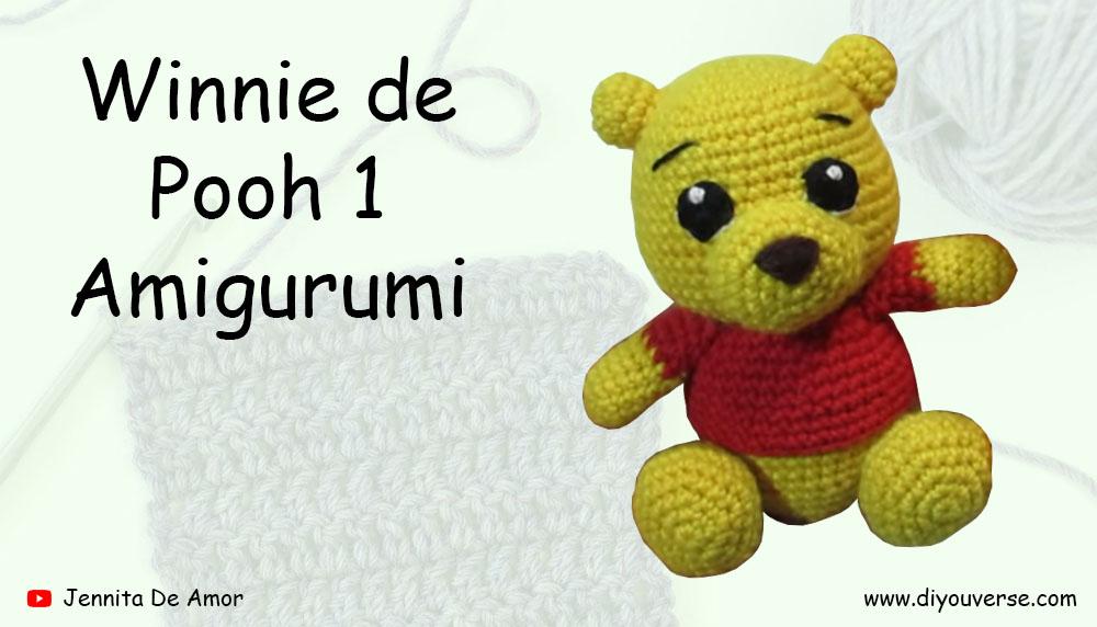 Winnie de Pooh 1 Amigurumi