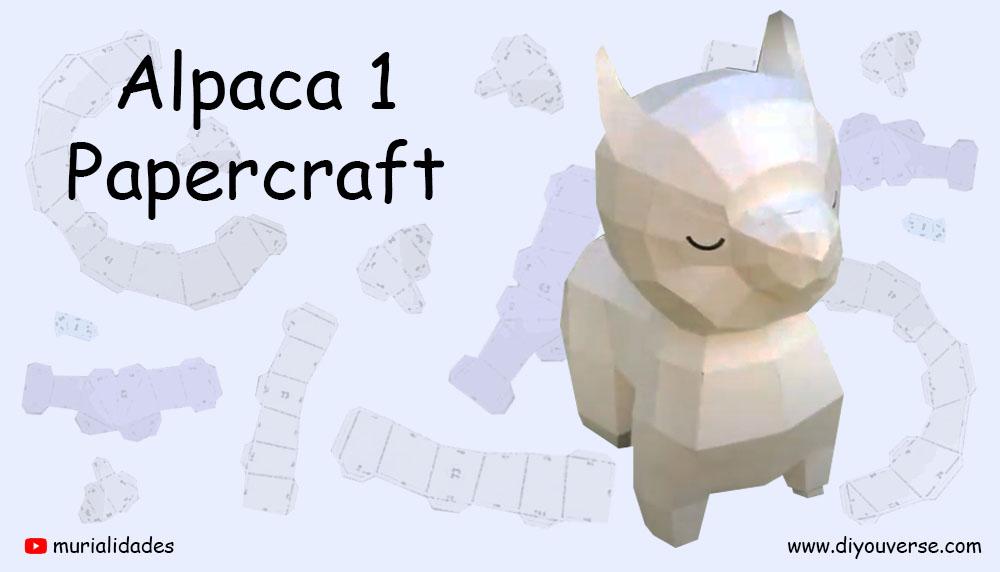 Alpaca 1 Papercraft