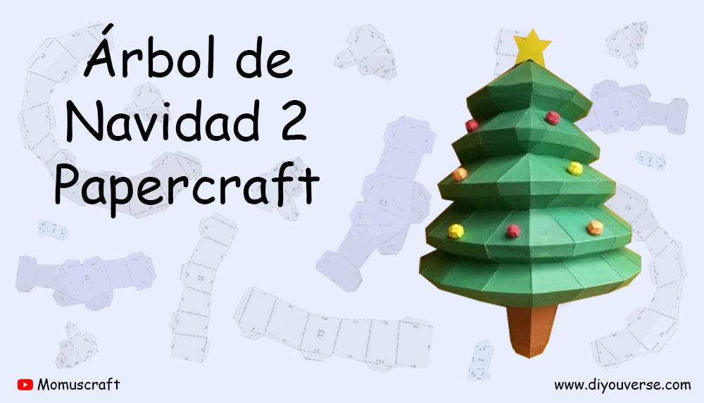 Árbol de Navidad 2 Papercraft