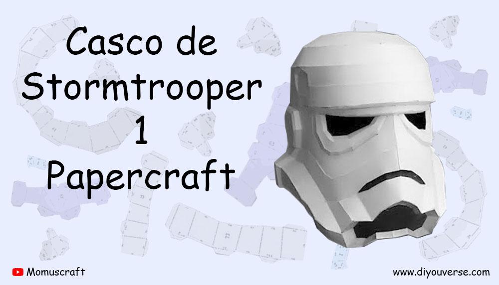 Casco de Stormtrooper 1 Papercraft