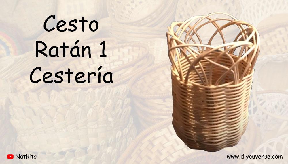 Cesto Ratán 1 Cestería