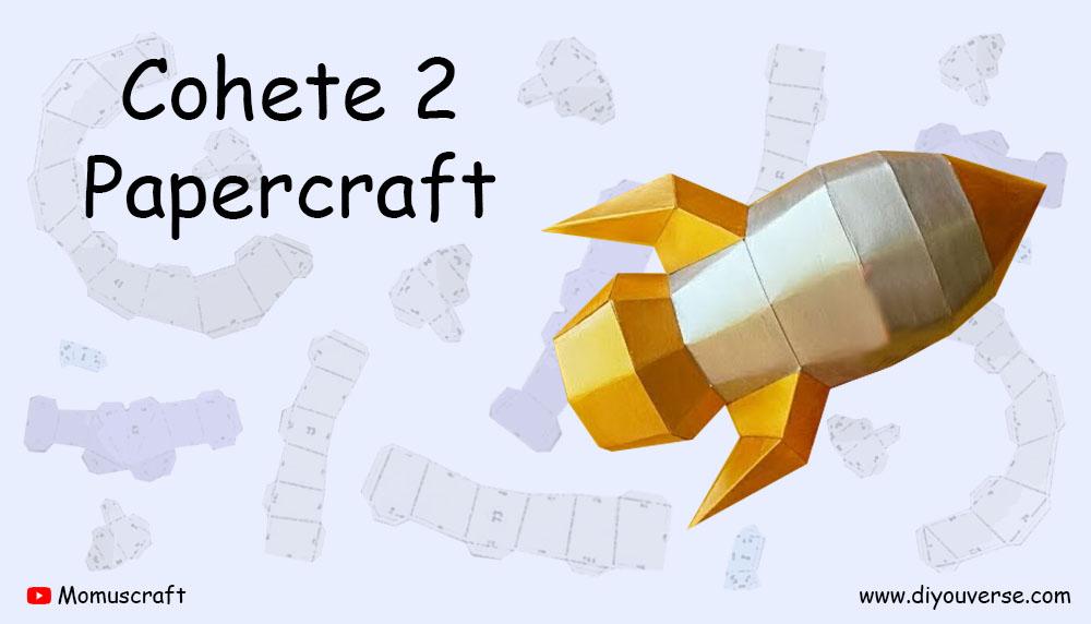 Cohete 2 Papercraft