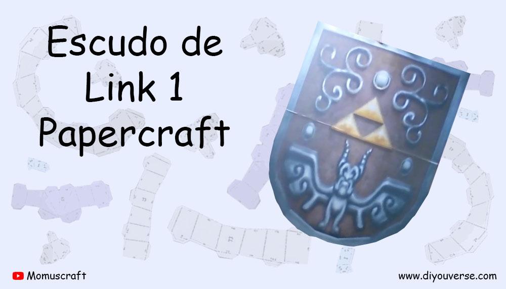 Escudo de Link 1 Papercraft