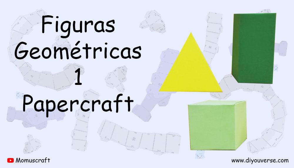 Figuras Geométricas 1 Papercraft