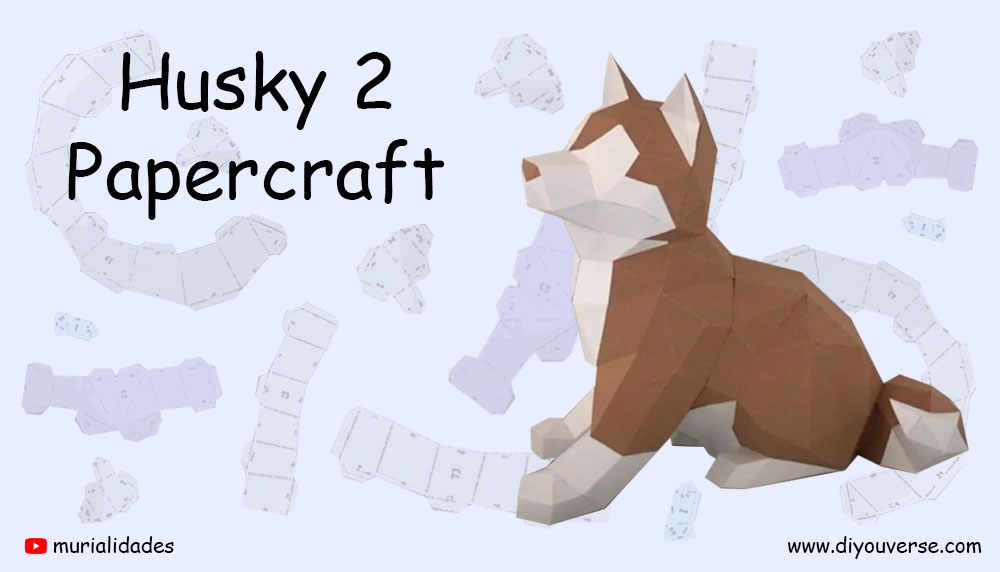 Husky 2 Papercraft