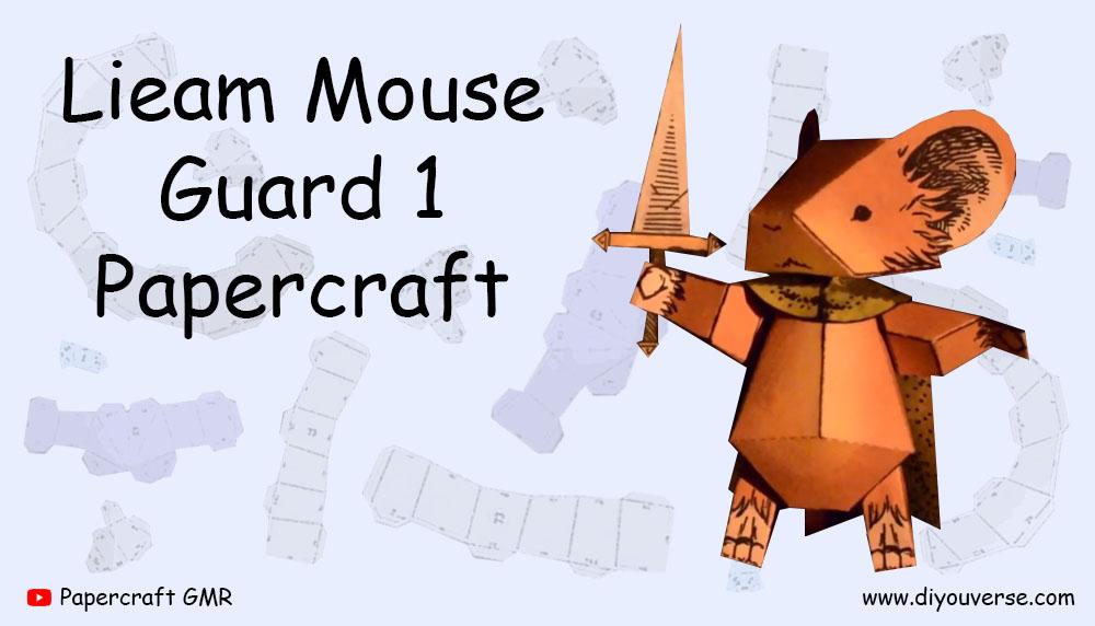 Lieam Mouse Guard 1 Papercraft