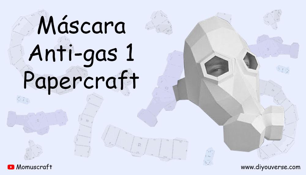 Máscara Anti-gas 1 Papercraft