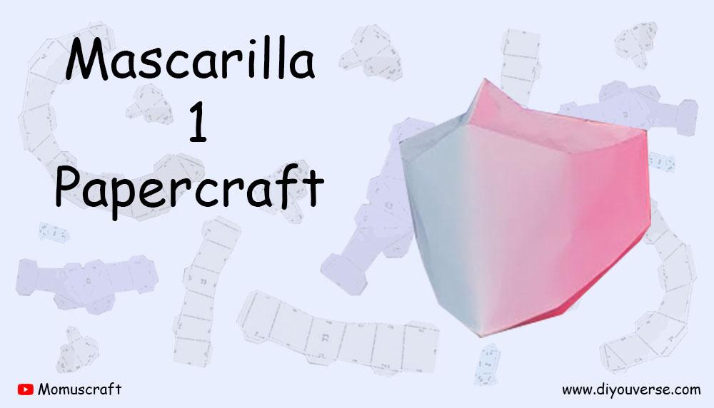 Mascarilla 1 Papercraft