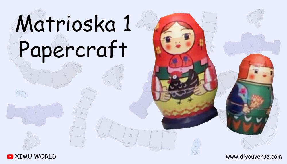 Matrioska 1 Papercraft