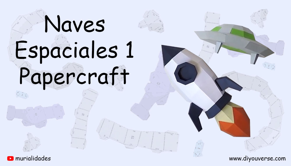 Naves Espaciales 1 Papercraft