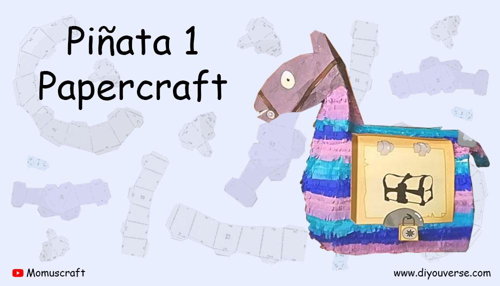 Piñata 1 Papercraft