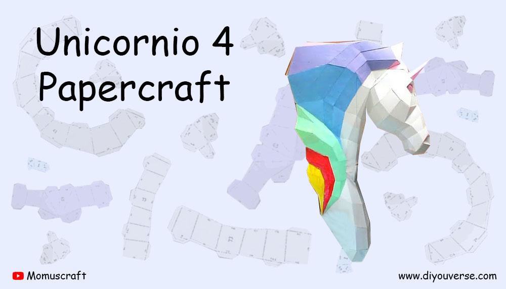 Unicornio 4 Papercraft
