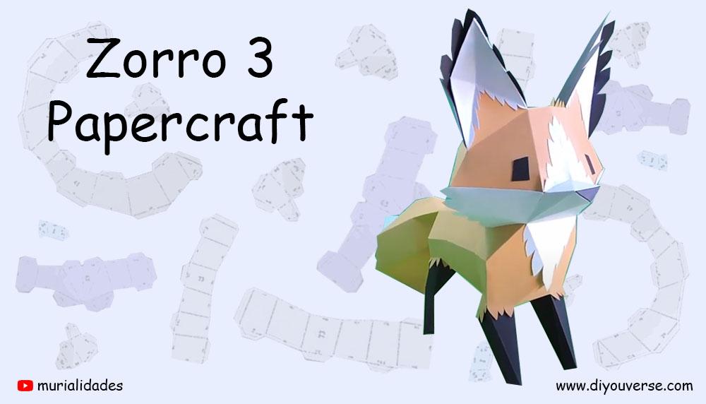 Zorro 3 Papercraft