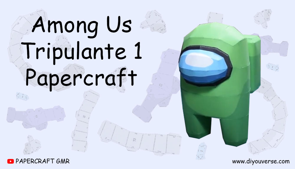 Among Us Tripulante 1 Papercraft