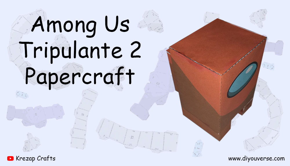 Among Us Tripulante 2 Papercraft