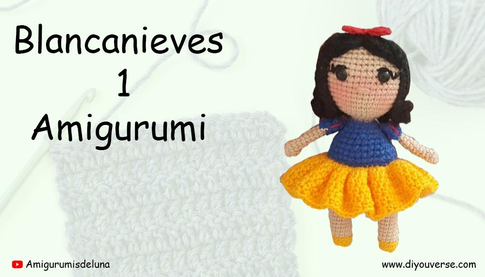 Blancanieves 1 Amigurumi