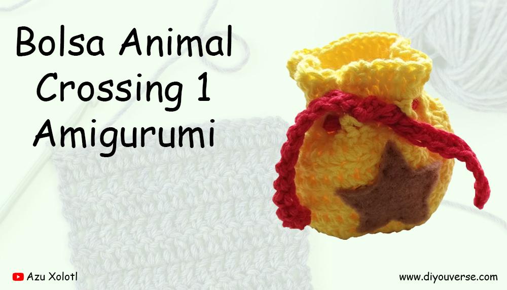 Bolsa Animal Crossing 1 Amigurumi