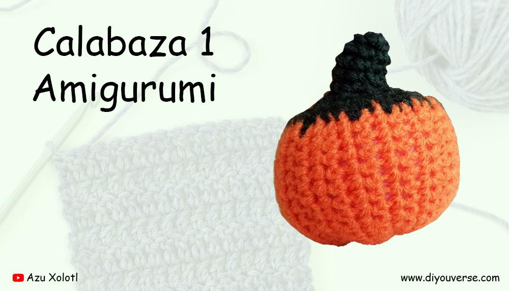 Calabaza 1 Amigurumi
