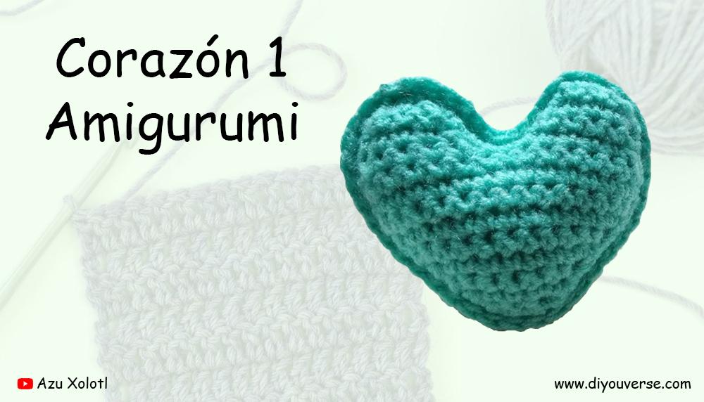 Corazón 1 Amigurumi