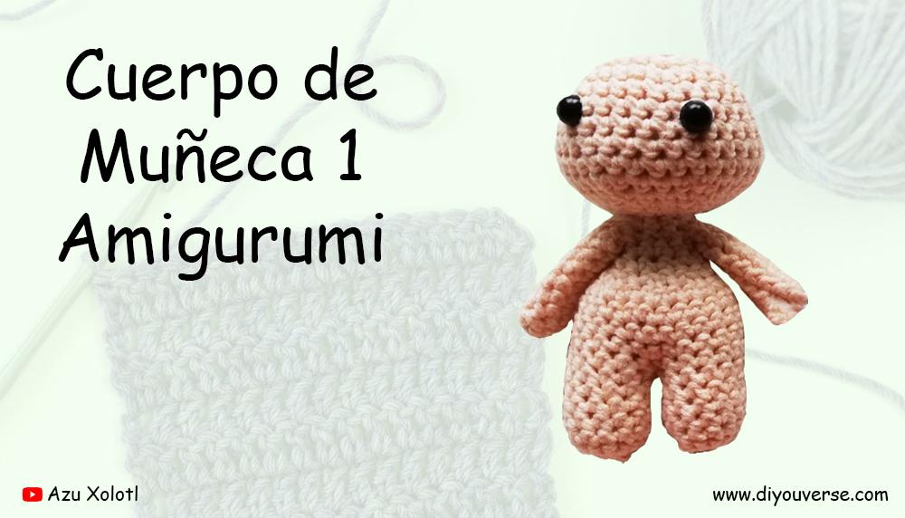 Cuerpo de Muñeca 1 Amigurumi
