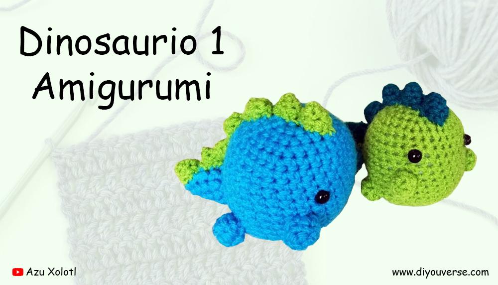 Dinosaurio 1 Amigurumi