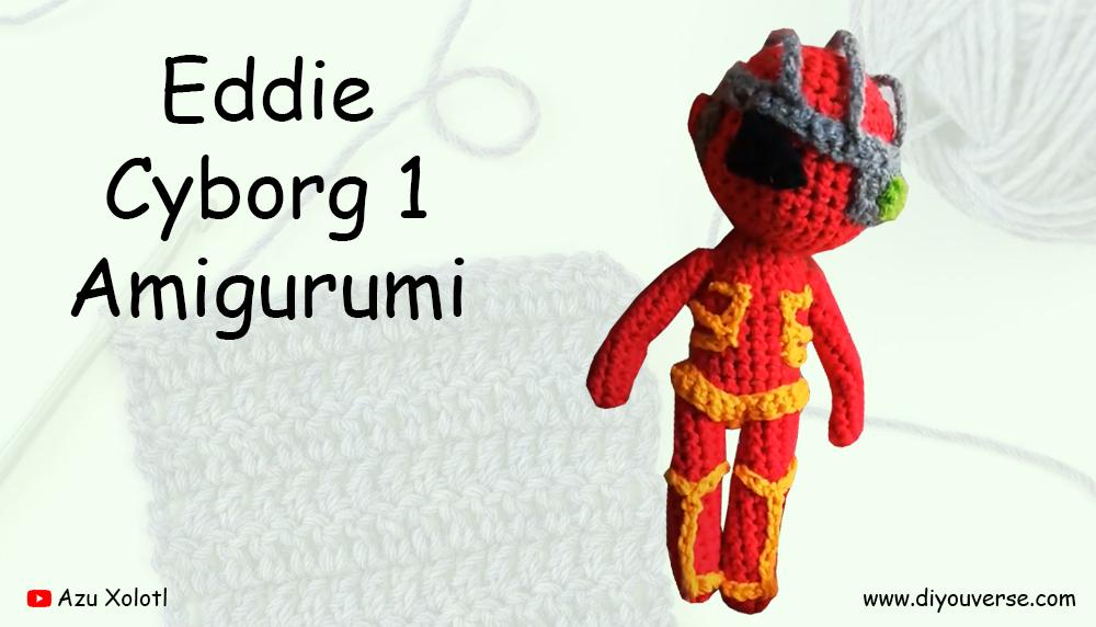 Eddie Cyborg 1 Amigurumi