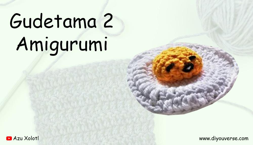 Gudetama 2 Amigurumi