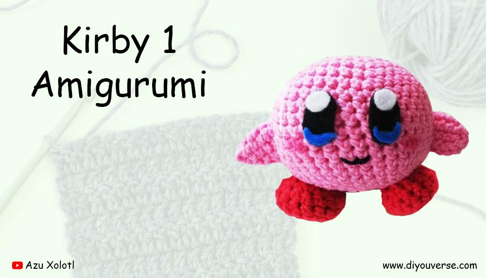 Kirby 1 Amigurumi