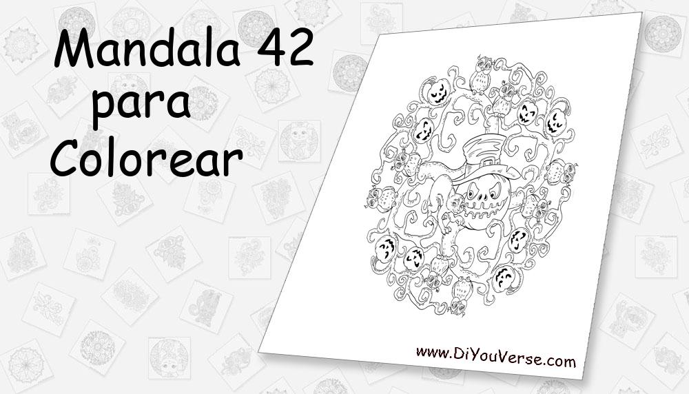 Mandala 42 Para Colorear