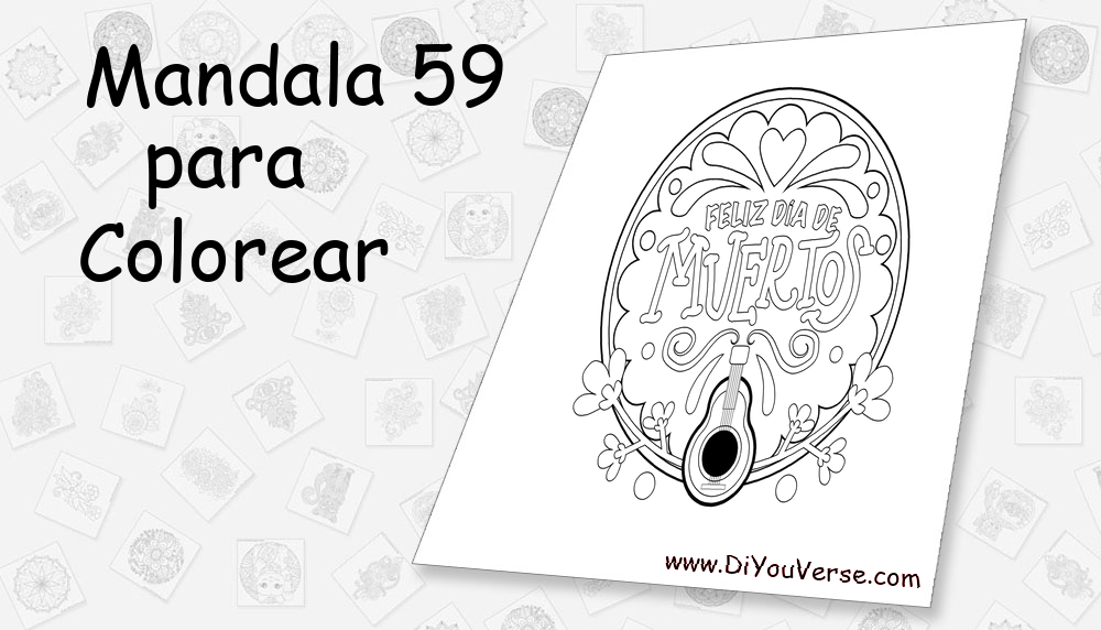 Mandala 59 Para Colorear
