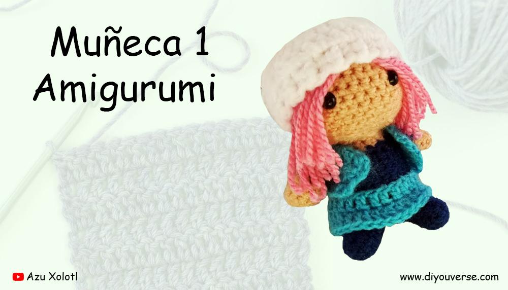 Muñeca 1 Amigurumi