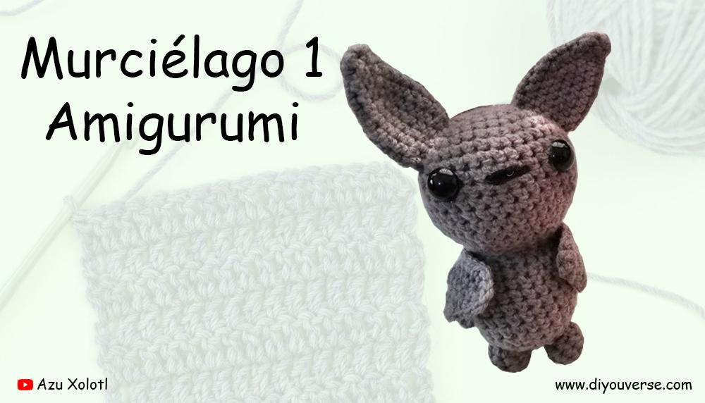 Murciélago 1 Amigurumi