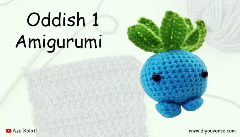 Oddish 1 Amigurumi