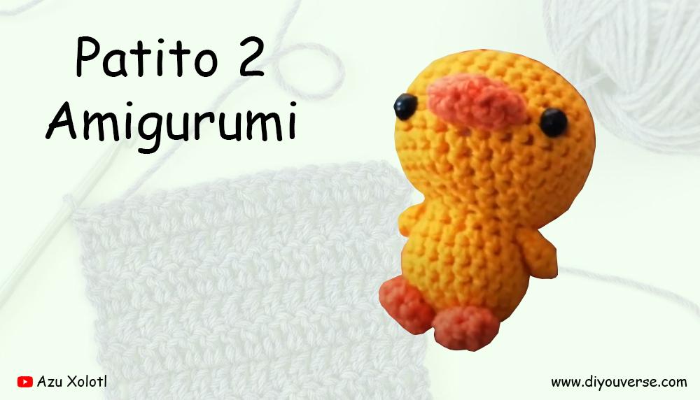 Patito 2 Amigurumi
