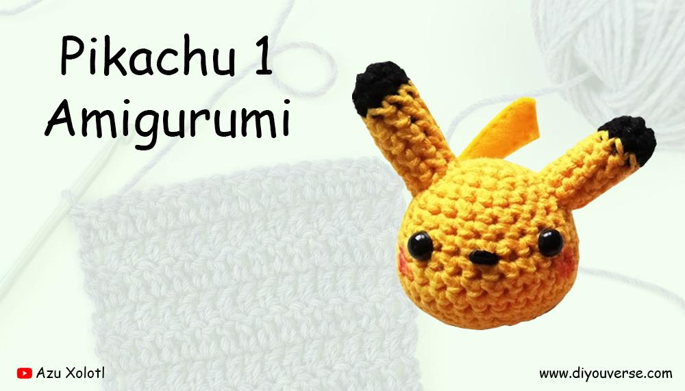 Pikachu 1 Amigurumi