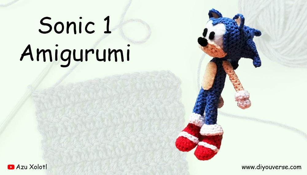 Sonic 1 Amigurumi