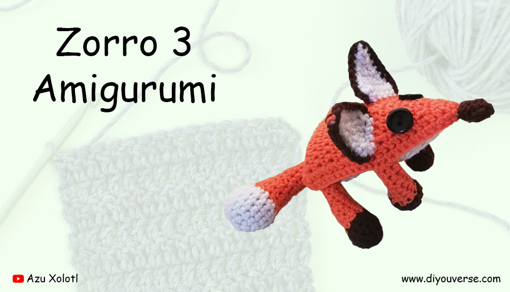 Zorro 3 Amigurumi