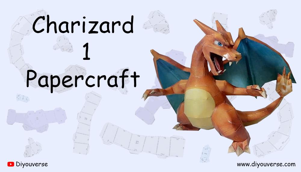 Charizard 1 Papercraft